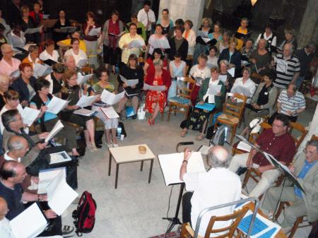 Académie 2008 / Répétitions