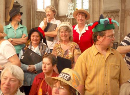 Académie 2008 / Vie Quotidienne - Concours de chapeaux